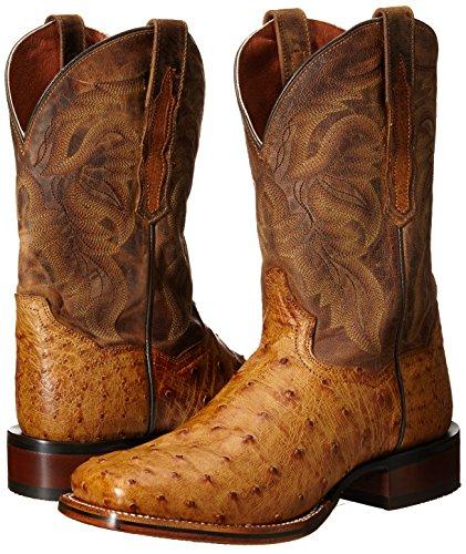 Dan Post Men's Alamosa Western Boot, Saddle Tan, 10.5 D US