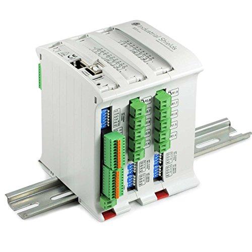 PLC Arduino Ethernet 38R I/Os Relé/Analógico/Digital PLUS