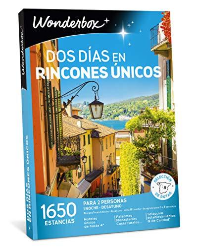 WONDERBOX Caja Regalo - Dos DÍAS EN RINCONES ÚNICOS - 1.650...