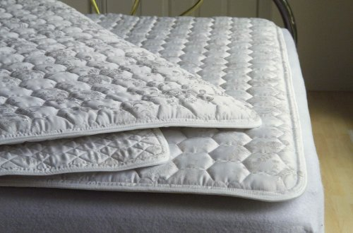 """Promagnet Magnetic Mattress Pad - Twin 1"""" Thick Standard (Powerful Ceramic Magnets Mfg. Br Core Gauss Rating is 3,550-3,950 per Magnet). Made in The USA Over 25 yrs."""