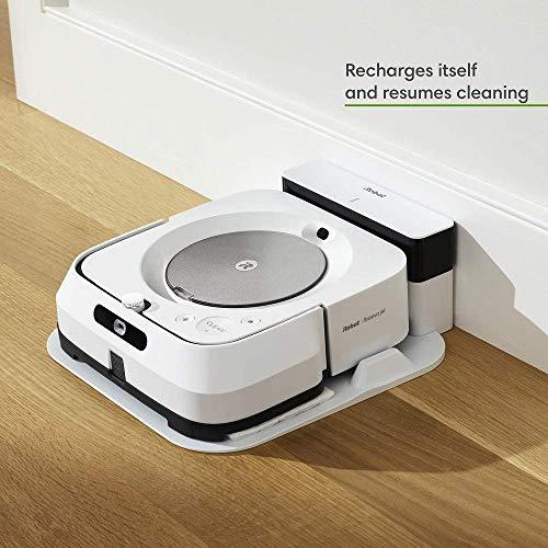 iRobot Roomba i7 Robot Vacuum with Braava Jet M6 Ultimate Robot Mop Combo