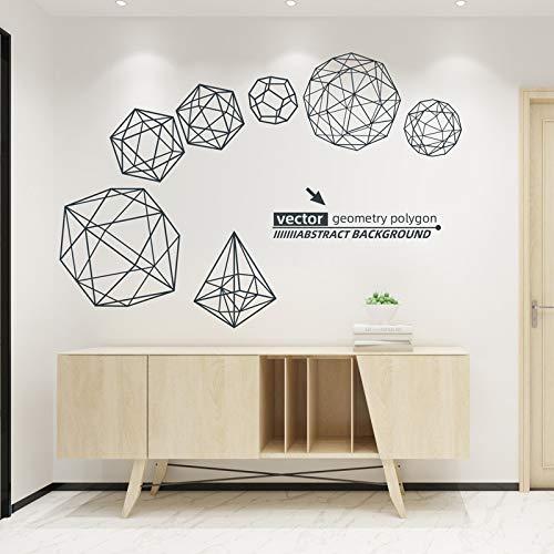Creativo fondo de pared decoraciones diseño pegatinas de pared dormitorio habitación pegatinas de pared cabecera papel pintado autoadhesivo transformación 60X90cm