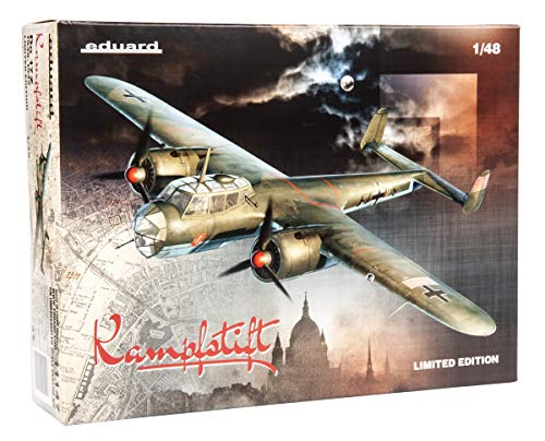 Eduardo 1/48 Limited Edition German Air Force Dornier Do-17Z / EDU11147 1:48 Eduard Dornier Do17Z 1939-11942 Kampfstift [Model Building KIT] 1