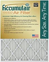 Accumulair Gold 14x18x2 (13.5x17.5x1.75) MERV 8 Air Filter/Furnace Filters (4 Pack)