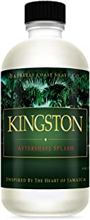 Sale - Kingston Aftershave Splash for Men - Scent Inspired by The Heart of Jamaica - Natural and Pure Ingredients - 4oz. - from Barberry Coast Shave Co.