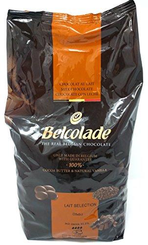 Belcolade 35,6% Milchschokolade Auswahl 5kg