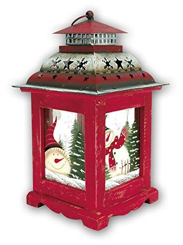 ZEP Lanterna di Natale Lanterna Kemi addobbi Natalizi Portacandela