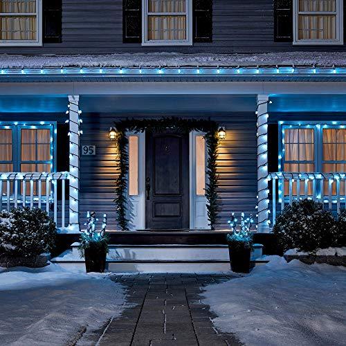 Garage Christmas Light Ideas