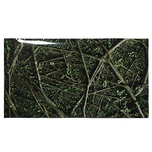 GOTOTOP Affiche de réservoir de Reptile, Arbres et Motif de Jungle Affiche de Fond d'aquarium PVC Autocollant Auto-adhésif décoration de Papier Peint de réservoir de Reptile(61 * 41cm)