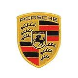 Porsche Stemma da Cucire Toppa Termoadesiva