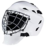Franklin Sports Youth Hockey Goalie Masks -Street Hockey Goalie Mask for Kids - GFM1500 - Perfect for Street and Indoor Hockey - White