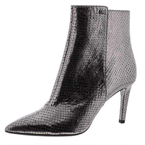 Price comparison product image Michael Michael Kors Dorothy Flex Mid Bootie Anthracite 7.5 M
