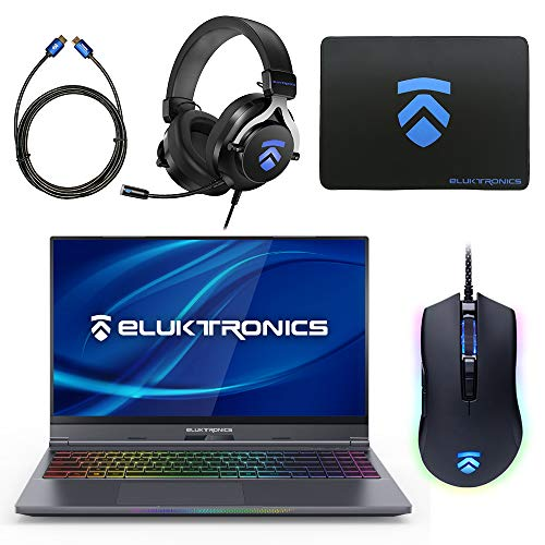 Find Bargain Eluktronics MAX-15 Slim & Ultra Light Notebook PC: Intel i7-9750H NVIDIA GeForce RTX 20...