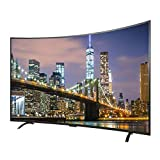 BAIHU Television Curved 4K Ultra HD Smart TV with HDR and Mobile Phone Projection Function,32...