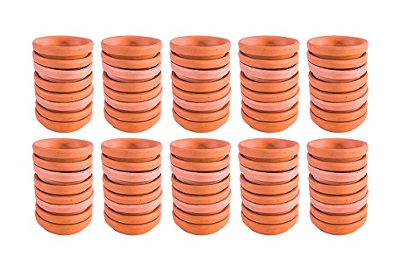 Pennington Terra Cotta Saucer 2 Inch Diameter (Case of 80) oji9873224
