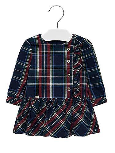Mayoral 19-02926-016 - Vestido para bebé niña 18 Meses
