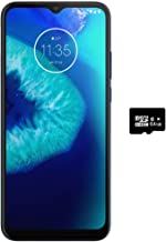 "$179 » Moto G8 Power Lite (64GB,4GB) 6.5"", 5000 mAh Battery, Dual SIM GSM Unlocked, Global 4G LTE International Model (T-Mobile, AT&T, Metro, Cricket) XT2055-2 (64GB SD + Case Bundle, Navy Blue)"