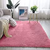 Alfombras para la sala de estar, ultra suave y moderna alfombra de área de piel peluda, comedor, sala de estar, alfombra para niños, sala de estar, peludas, para decoración del hogar, alfombras, piso