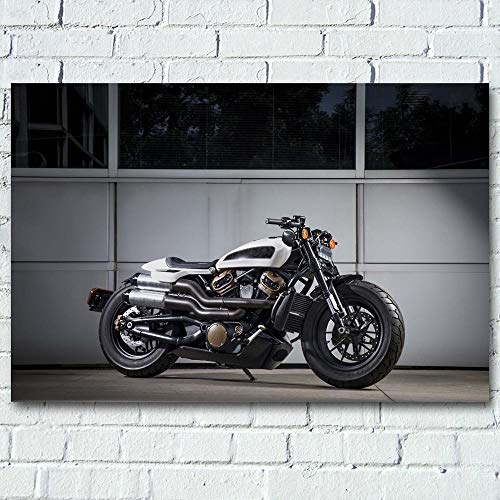 Motocicleta de Gran Potencia_Puzzle Adulto 1000 Piezas_Dificultad Creativa Gran Rompecabezas educación educativa descompresión Juguetes para Adultos_50x75cm