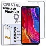 REY Protector de Pantalla para XIAOMI Mi8 / MI 8, Cristal Vidrio Templado Premium