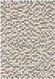 myfelt Hella Filzkugelteppich — 70x100 cm, rechteckig — Weiß