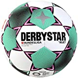 DERBYSTAR 2020/2021 Brillant APS Bundesliga FIFA Match Soccer Ball, Size 5, White