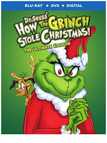 How the Grinch Stole Christmas: Ultimate Edition (Blu-ray + DVD + Digital) $4.70 & More
