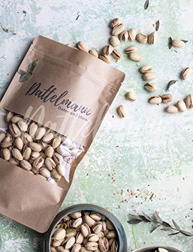 Pistazien Geröstet und Gesalzen | 1Kg | 100% Natürlich & Gesund | Premium Qualität | High Protein | Palmyra Delights | Vegan