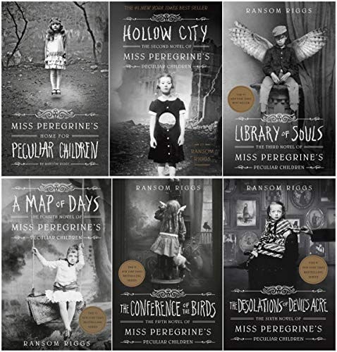 NEW! Miss Peregrine's Home for Peculiar Children Complete 6 Books Set