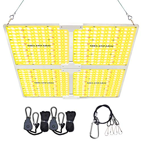 MELONFARM 4000W LED Grow Light, Compatible with Samsung LM301B Diodes & MeanWell Driver, High Performance Full Spectrum for Indoor Plants Veg & Bloom, for 4 x 4 ft Grow Tent