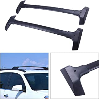 cciyu Universal Aluminum Roof Rack Cross Bar Car Top Luggage Carrier Rails Fit for 2009-2017 Chevrolet Traverse Sport Utility 4-Door 3.6L(NOT Included C Channel )