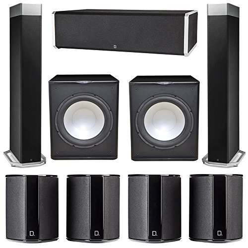 Buy Discount Definitive Technology 7.2 System with 2 BP9080X Tower Speakers, 1 CS9060 Center Channel...
