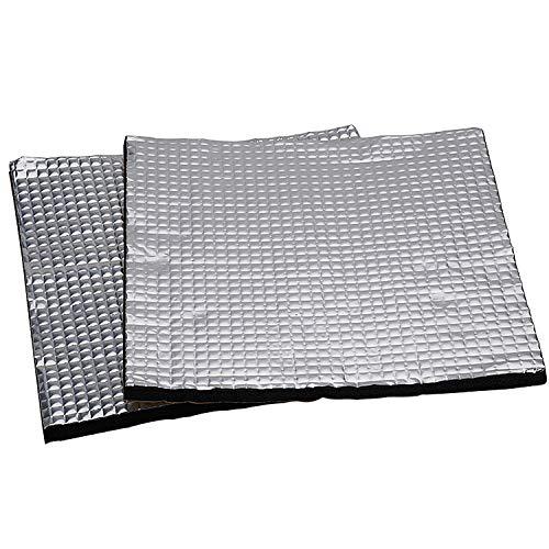 NATEE 2 Pezzi Pannello Isolante Termico Adesivo in Cotone Schiuma Leggera per Hotbed di Stampante 3D per Creality CR-10S, CR-10, Ender 3, Anet E12, Anet A8-220 x 220 mm