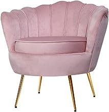 Artiss Armchair Velvet Upholstery Pink