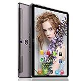 4G LTE Tablette Tactile 10 Pouces Android 8.1 Quad Core 3Go RAM 64Go ROM Dual SIM/WiFi/OTG/BT 4.2 Tablettes Tactiles Batterie 8000mAh Double Haut-Parleur Stéréo Double Caméra DUODUOGO G200 GPS (Gris)