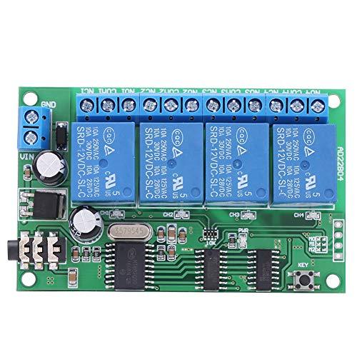 Relé decodificador de señal, señal de señal DTMF corriente relé decodificador de corriente en espera de plástico Interruptor de bloqueo