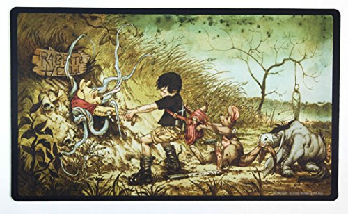 Inked Playmats Hundred Acre Hell Playmat Inked Gaming TCG Game Mat for Cards
