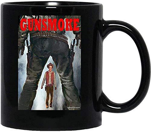 OceanPrint Gunsmoke Marshall Dillon Tv Western Movies Cowboys Outlaws Women Men Coffee Tea Cups Mugs