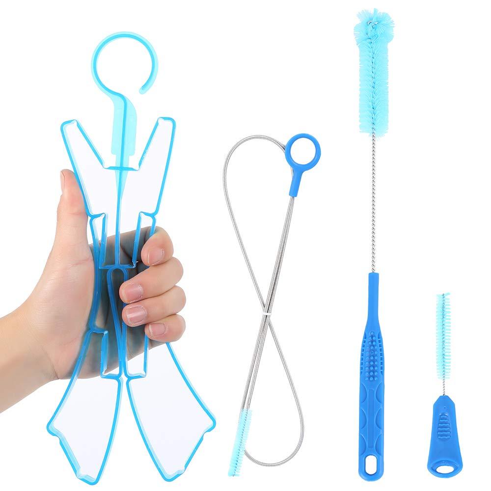 4pcs//Set  Water Hydration Bladder Tube Cleaner Brushes Tube Cleaning Kit