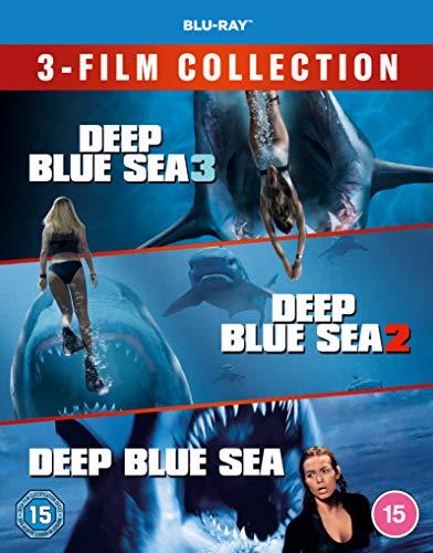 Deep Blue Sea 3-Film Collection [Deep Blue Sea / Deep Blue Sea 2 / Deep Blue Sea 3] [Blu-ray] [2020] [Region Free]