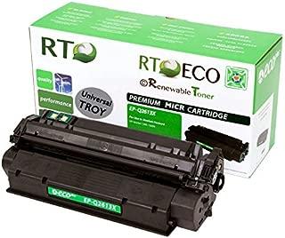 Renewable Toner Compatible MICR Toner Cartridge Replacement for HP Q2613X Troy 02-81128-001 Laserjet 1300 1300n 1300xi