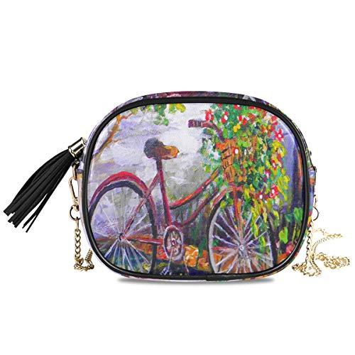 XiangHeFu kaarthouder portemonnee passport tuin fiets bloemen zomer grote capaciteit portefeuille telefoon tas muntcassette