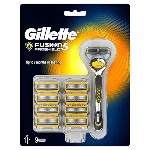 Gillette Fusion ProShield – Afeitadora Gillette clásica con recambios