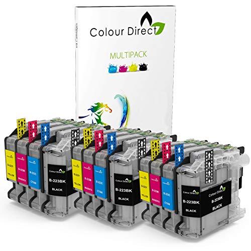 12 Colour Direct LC223 Kompatibel Tinte Kartuschen Ersatz Zum Brother DCP-J4120DW , DCP-J562DW , MFC-J4420DW , MFC-J480DW , MFC-J4620DW , MFC-J4625DW , MFC-J5320DW , MFC-J5620DW , MFC-J5625DW , MFC-J5720DW , MFC-J680DW , MFC-J880DW Drucker