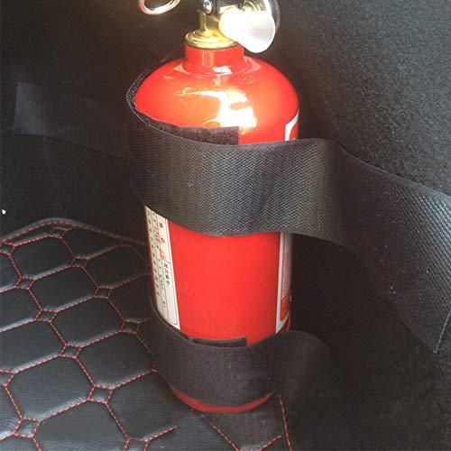 Newhashiqi - Correas para extintores de coche, cintas adhesivas para extintores de coche o camión, accesorios universales, correas especiales fijas