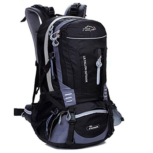 40L sac de sport de loisirs de la mode des hommes et des femmes en plein air sac à dos d'alpinisme randonnée à dos
