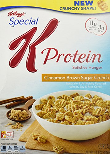 Kellogg's Special K Special K Protein Cereal - Cinnamon Brown Sugar Crunch - 10.8 oz by Kellogg's