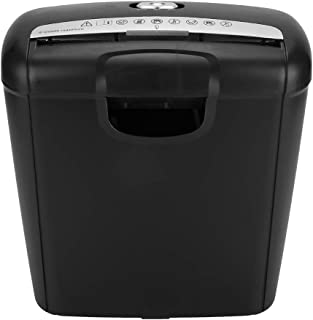 Paper Shredder, 110V 168W Credit Card Shredder with 10L Bin Capacity for Home Office Paper and Credit Card Strip Cut Destr...