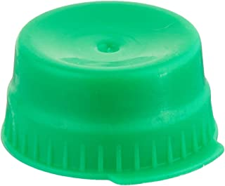 Globe Scientific 113148G Polyethylene Snap Cap with Single Thumb Tabs for 16mm Glass/Evacuated Tubes, 16mm Size, Green (Ca...