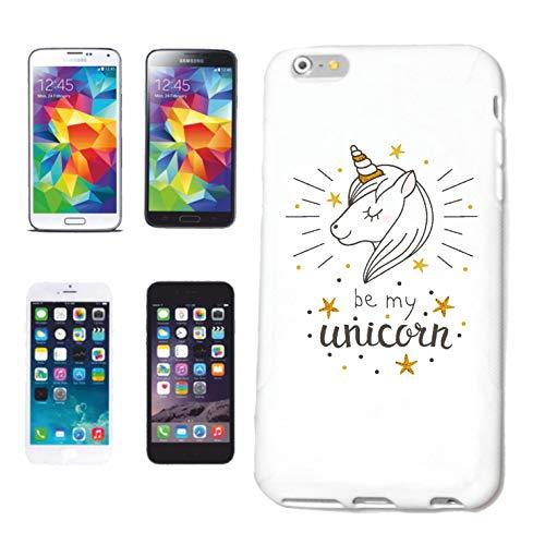 Reifen-Markt Funda para Samsung Galaxy S4 Mini BE My Unicorn Unicorn Fabelwesen Rainbow Emoji Carcasa Carcasa protectora para teléfono móvil Smart Cove